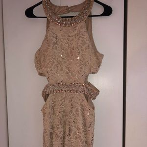 Jeweled/Sequin Homecoming dress